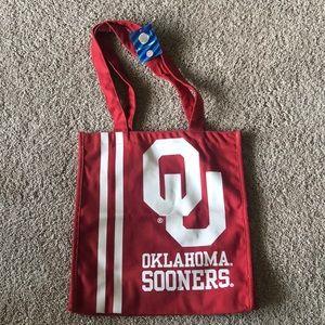 NWT Oklahoma Sooners (OU) Tote Bag